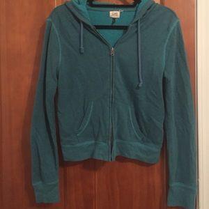 ... ☀️Comfy Teal Hooded Zip Up BOGO ... 5bfd4099f593