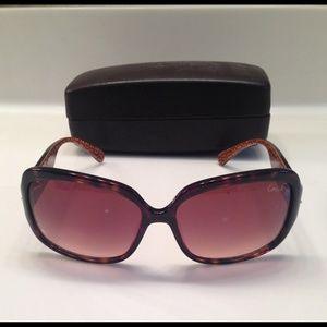 Coach Scarlet Tortoise Sunglasses