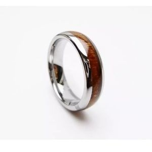 Jewelry - 🆕Mele Hawaiian Koa Wood Ring