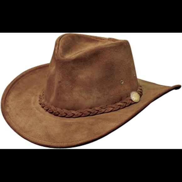 00a0d2183d2 Henschel Hats Suede Leather Cowboy Hat