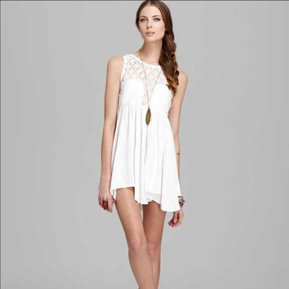 Free People - FREE PEOPLE FIESTA DRESS/WHITE from Veronica's ...