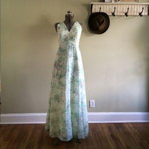 Vintage 70s Bridesmaid Dress