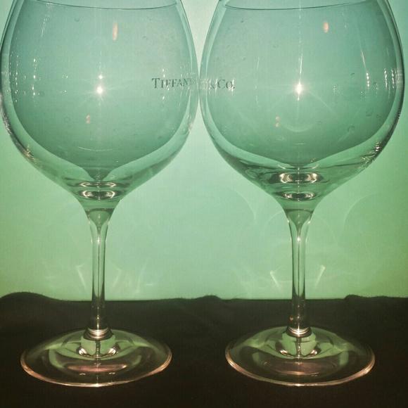 69b68d119b93 Tiffany Co Wine Glasses (set of 2). M 55a3cf1b2bbdeb46c300f7d0
