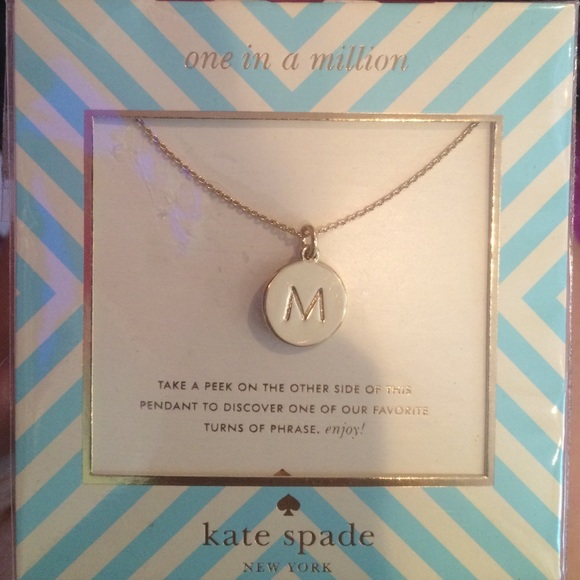 14 kate spade jewelry one in a million necklace