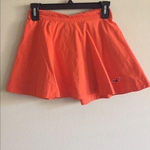 Orange Hollister Skirt