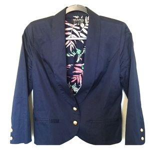 Jackets & Blazers - The Webster for Target cropped navy blazer