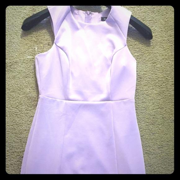 875166739814 Light purple dress. Plain front cute back.