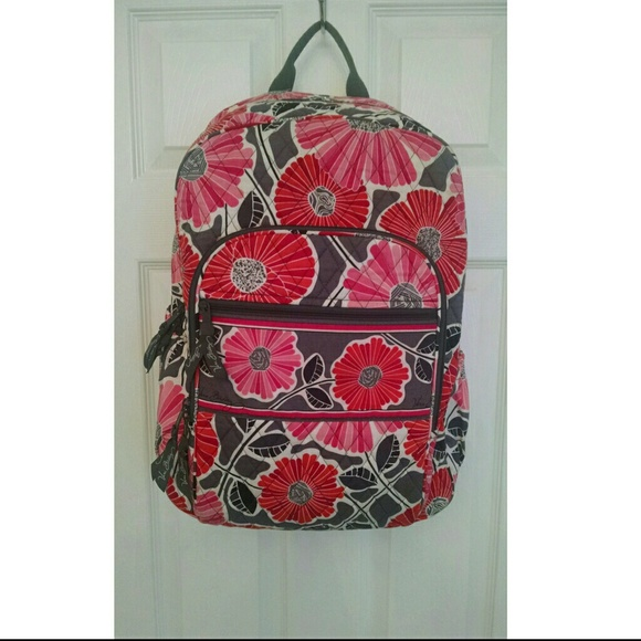 be5db1db25 Vera Bradley Cheery Blossoms Campus Backpack. M 55a401612e59b8309e0108b6