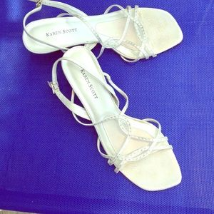 Shoes - DONATED!! Dress sandals semi-formal wedding shoes