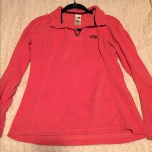 North Face pull over sweatshirt