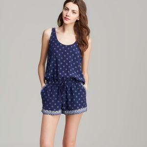 Joie Dresses & Skirts - Joie Navy Paisley Romper