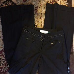 Anthropologie Leifsdottir Lined Black Pants 6