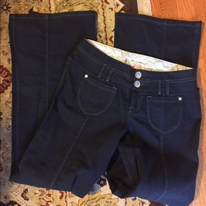 Anthropologie Navy Denim Pants 6