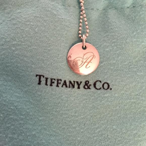 203fd42158e8 Tiffany Notes alphabet Disc Charm