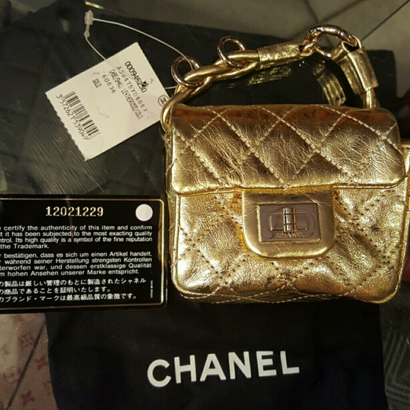 b96281b4d973 CHANEL Bags | Gold Reissue Mini Anklet Wristlet Flap 255 | Poshmark