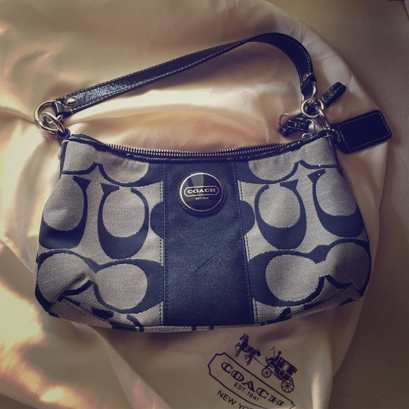 Coach Handbags - Small Coach Bag- short and long strap (detachable) 3f430359fb340