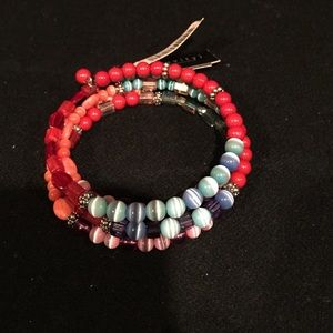 Relativity Jewelry - NWT Beaded bracelet on wire