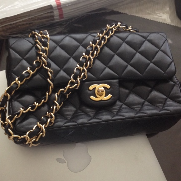 chanel used. used authentic chanel bag poshmark