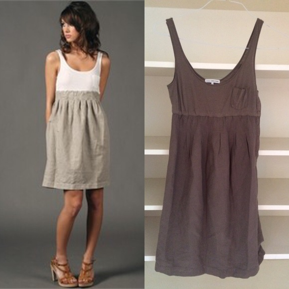 dce36b16eaa9db James Perse Dresses   Skirts -  198 JAMES PERSE grey pocket tank dress