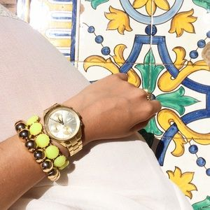 Jewels of the Day by Lina  Jewelry - Yellow Bauble Bracelet🎀