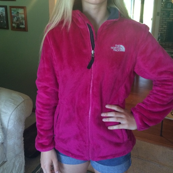 6eaf4d381 SALE! The North Face Osito jacket hot pink