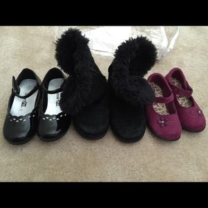 Other - Lot of toddler girl shoes boots