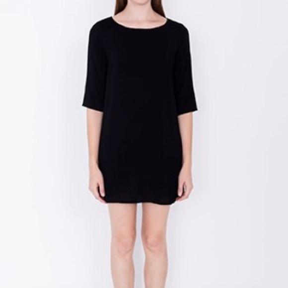 Black tent dress. & 22% off American Apparel Dresses u0026 Skirts - Black tent dress. from ...