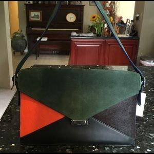 39% off Celine Handbags - C��line soft trio zipped bag in lambskin ...