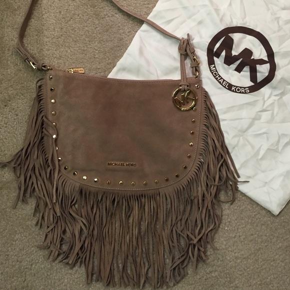 4a9c4ab8b1d6dc M_55a4575cf9a2ca7402012dbf. Other Bags you may like. Bronze Michael Kors  Leather ...
