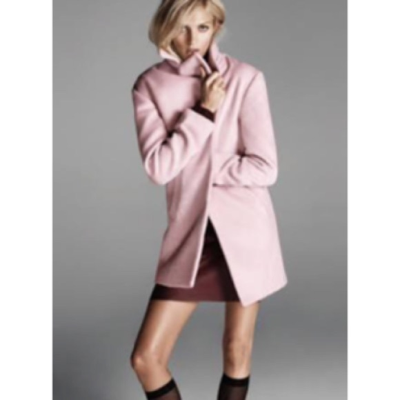 68% off Forever 21 Outerwear - Dusty pink textured oversized ...
