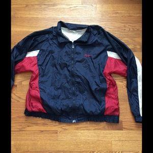 Reebok Red & Grey Jacket cyODT2Ws