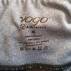 Vogo Pants & Jumpsuits - Vogo Black/Blue Band Yoga Pants!