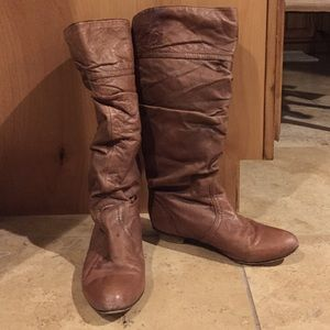 605a8641785 Steve Madden. Steve Madden Candence Tan Leather Boots
