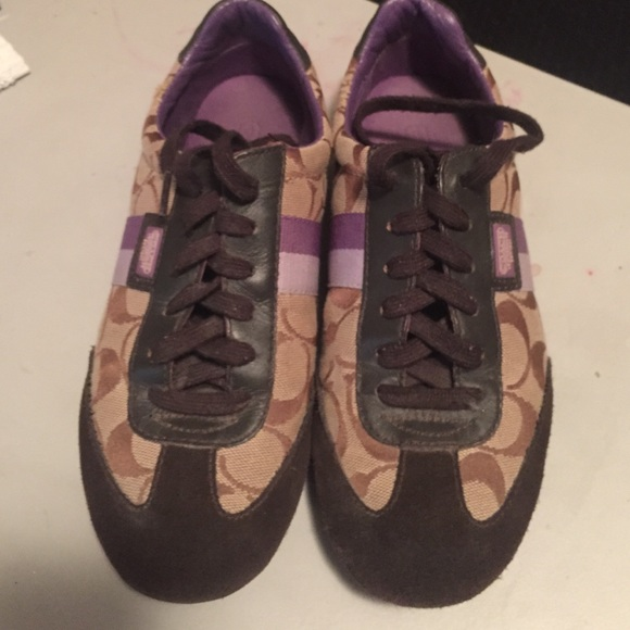 How much are real coach sneakers?