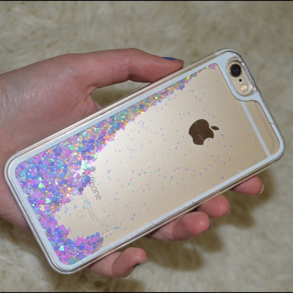 liquid glitter phone case iphone 6