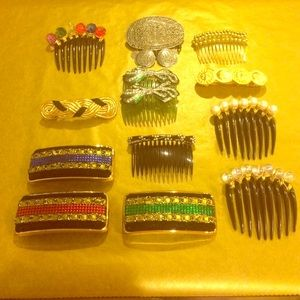 Accessories - Hair Brooches and Hair Clip