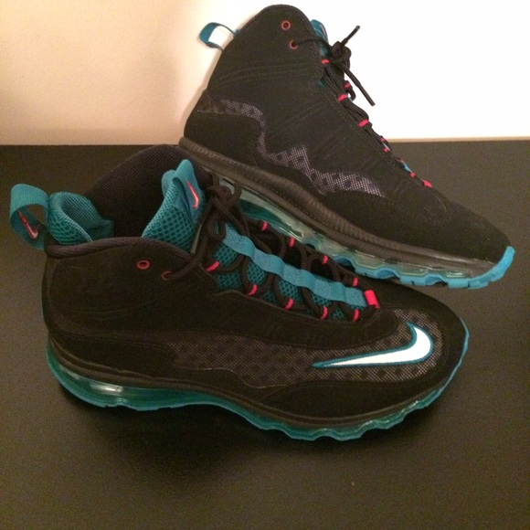 Green And Black Griffey Shoes