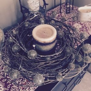 Pottery Barn Candle Holder Decoration