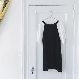Obey Dresses & Skirts - Black/Ivory Shift Dress