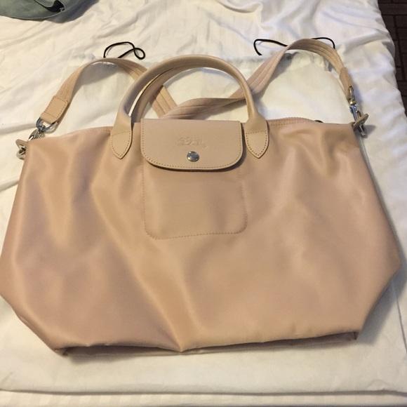 16 off longchamp handbags sale longchamp le pliage neo shoulder tote from nina 39 s closet. Black Bedroom Furniture Sets. Home Design Ideas