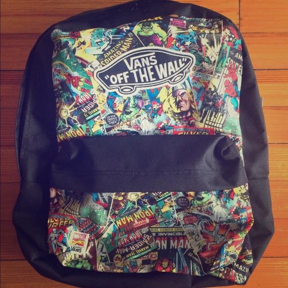 Vans Marvel Backpack NWT