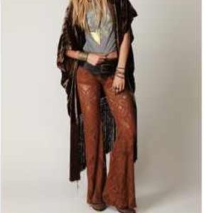 Free people lace bell bottoms