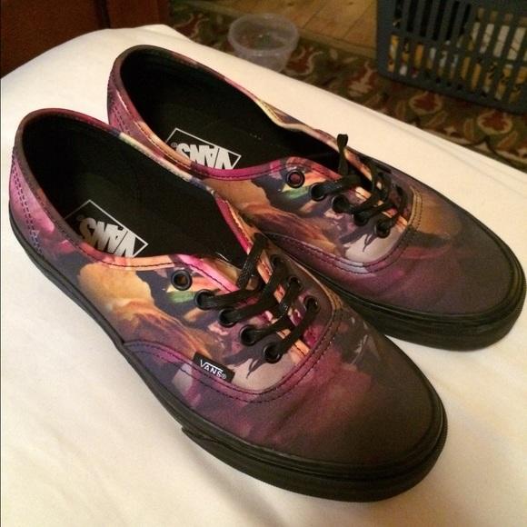 b919616584 Vans Shoes - Authentic Ombré Floral Vans