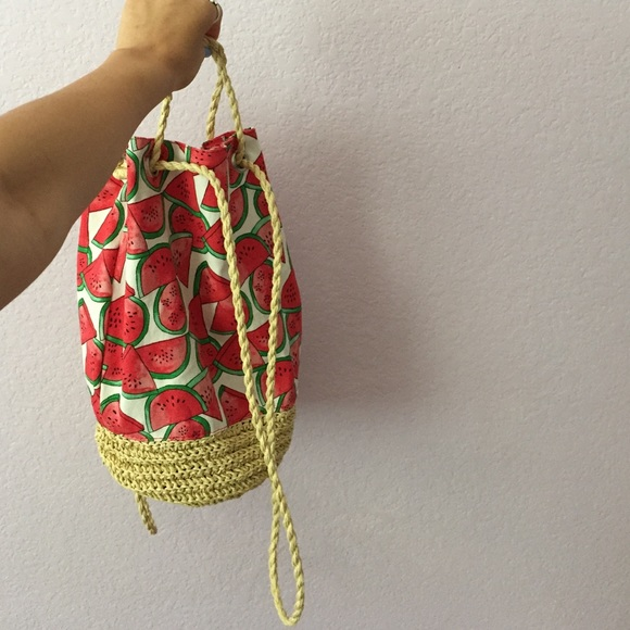 H&M - Watermelon beach bag from Tay's closet on Poshmark