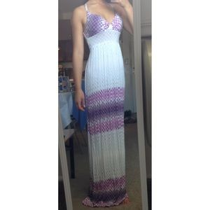 Purple Ombre Maxi