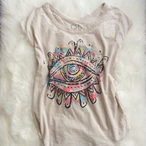Chaser Tops - Abstract eye tee