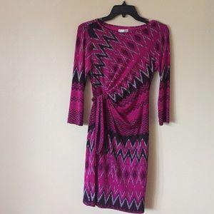 Donna Morgan Fuschia dress