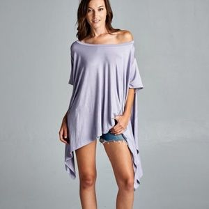 """Chase The Wind"" Asymmetrical Top"