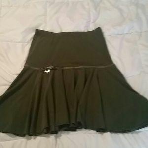 Dresses & Skirts - Dark green skirt