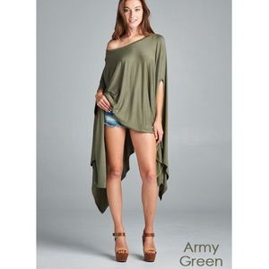 "Bare Anthology Tops - ""Contemporary"" Poncho Tunic Top"